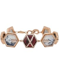 Monique Péan - Multicolor Women's Geometric-link Bracelet - Lyst