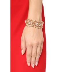 Alexis Bittar - Metallic Bound Link Cuff Bracelet - Lyst