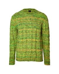 PS by Paul Smith - Green Crew Neck Pullover for Men - Lyst