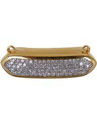 Monica Vinader - Metallic Gold Vermeil Diamond Baja Necklace - Lyst
