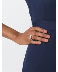 Rosa Maria | Metallic 'masha Dia' Ring | Lyst