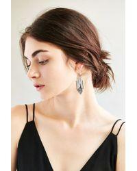 Urban Outfitters - Metallic Pixie Fringe Drop Earring - Lyst