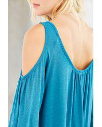 Kimchi Blue Blue Taylor Cold Shoulder Top