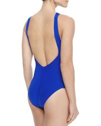 Jets by Jessika Allen - Blue Intuition Open-back One-piece - Lyst