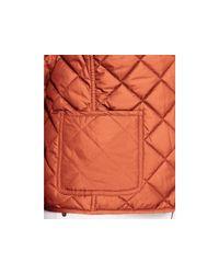 Ralph Lauren - Orange Lauren Plus Diamond Quilted Jacket - Lyst