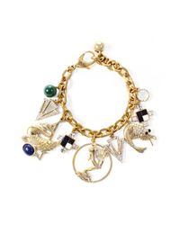 Lulu Frost | Metallic Allegory Charm Bracelet | Lyst