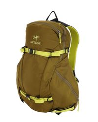 Arc'teryx - Green 20l Quintic Ski Backpack for Men - Lyst