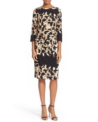 Tracy Reese Multicolor Abstract-Print Stretch-Crepe Dress