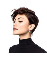 Lulu Frost | Black Jabrosa Ear Jacket | Lyst
