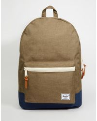 Herschel Supply Co. | Green Settlement Backpack 23l for Men | Lyst