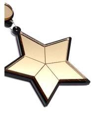 Yazbukey - Metallic 'superstar' Plexiglas Clip Earrings - Lyst