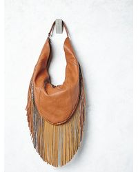 Free People | Brown Urban Originals X Womens Highway 65 Hobo | Lyst
