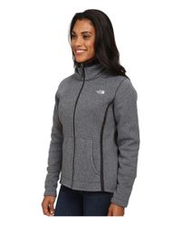 The North Face - Black Banderitas Full Zip Jacket - Lyst