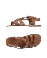 L'artigiano Del Cuoio Brown Sandals
