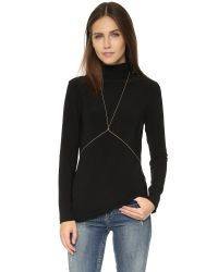 Jacquie Aiche - Metallic Diamond Body Chain - Lyst