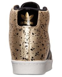Adidas - Metallic Women'S Superstar Up Casual Sneakers From Finish Line - Lyst
