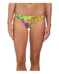 Trina Turk Multicolor Polynesian Palms Ring Side Hipster