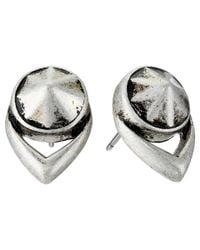 Vince Camuto | Metallic Stone Stud Earrings | Lyst