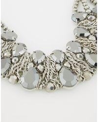 Coast - Metallic Herme Necklace - Lyst