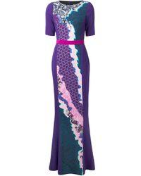 Peter Pilotto   Multicolor 'Vappor' Maxi Dress   Lyst