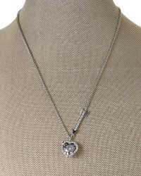 Swarovski | Metallic Heart Pendant Necklace | Lyst