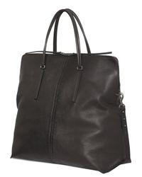 Rick Owens | Black Leather Weekend Bag for Men | Lyst