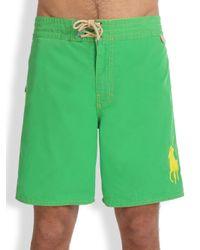 Polo Ralph Lauren | Green Sanibel Swim Trunks for Men | Lyst