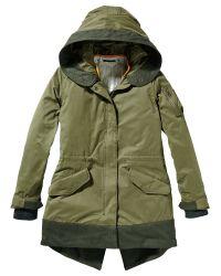 Maison Scotch Green Parka Jacket