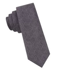 Calvin Klein | Brown Textured Tie for Men | Lyst