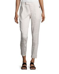 Vince - Multicolor Linen-blend Patchwork Cargo Pants - Lyst