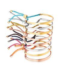 Astley Clarke - Metallic Fiji Peace Bracelet - Lyst