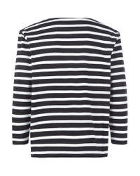 Marc By Marc Jacobs - Black Jacquelyn Stripe Top - Lyst