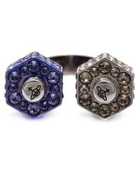 Vivienne Westwood | Blue 'jolene' Ring | Lyst