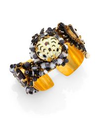 Erickson Beamon | Metallic Shadow Proclamation Cuff Bracelet | Lyst
