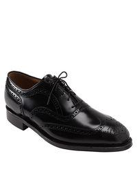 Johnston & Murphy - Black 'waverly' Oxford for Men - Lyst