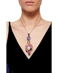 Sharon Khazzam | Multicolor One Of A Kind Joelle Necklace | Lyst