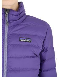 Patagonia | Purple Down Sweater Jacket | Lyst