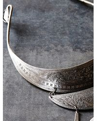 Free People | Metallic Forest Flowers Collar | Lyst