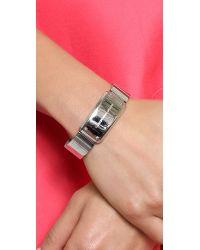 Marc By Marc Jacobs - Metallic Watch It Bracelet - Argento - Lyst