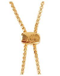 Monica Vinader - Metallic Gold-plated Vermeil Esencia Bracelet - Lyst