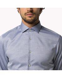 Tommy Hilfiger | Blue Parker Slim Fit Shirt for Men | Lyst