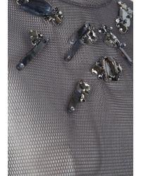 Dorothee Schumacher - Gray Techno Sheer Blouse Sleeve 1/2 - Lyst