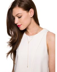 BaubleBar - Metallic Long Arrow Pendant - Lyst