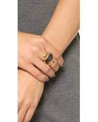 Alexis Bittar - Metallic Orbital Ring - Black - Lyst