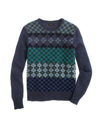 J.Crew Multicolor Lambswool Argyle Sweater for men