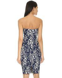 Zero + Maria Cornejo - Blue 'goa' Dress - Lyst