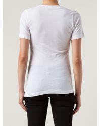 Sloane & Tate - White 'Manchester' T-Shirt - Lyst