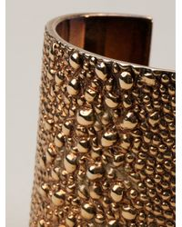 Givenchy Metallic Shagreen Cuff