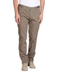 PT01 - Natural Casual Trouser for Men - Lyst