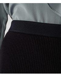 Reiss - Blue Dalane Knitted Pencil Skirt - Lyst